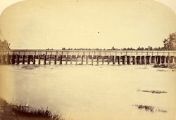 Aqueduct bridge over the Cauvery at Shrirangapattana [Seringapatam].